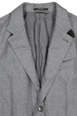 Front collar and lapel detail image of Ermenegildo Zegna Padded Sportcoat