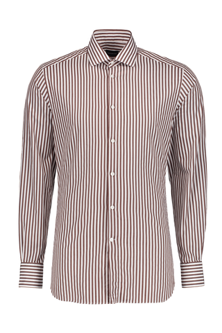 Stripe Long Sleeve Woven