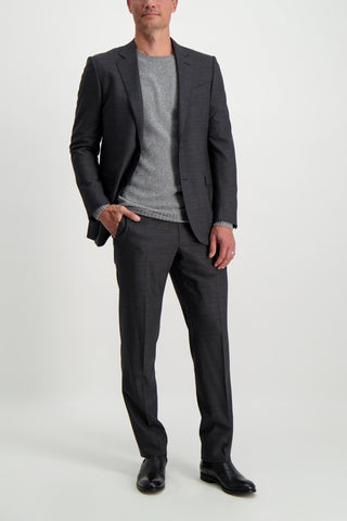 Full Body Image Of Model Wearing Ermenegildo Zegna Trecapi Milano Suit