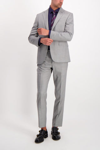 Wool Suit Light Grey