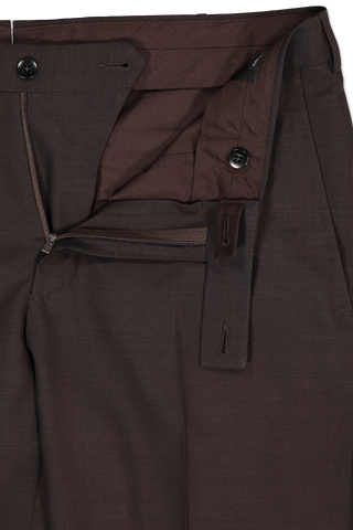 Waist Detail Wool Trouser