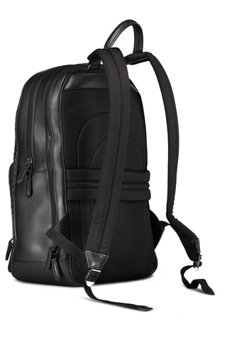 Backpack Business Pelle Tessuta and Smooth Calfskin