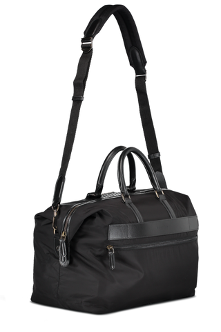 Holdall Nylon and Pelle Tessuta