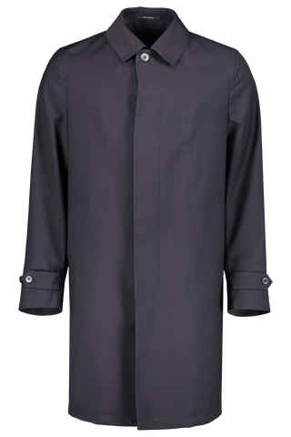 Front view image of Z Zegna Men's Techmerino Wash & Go Coat