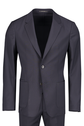 Front view image of Z Zegna Techmerino Wash & Go Suit Navy