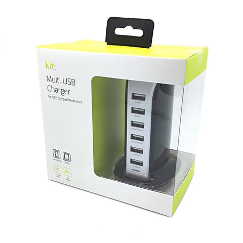 6 Port USB Charger 8 amp