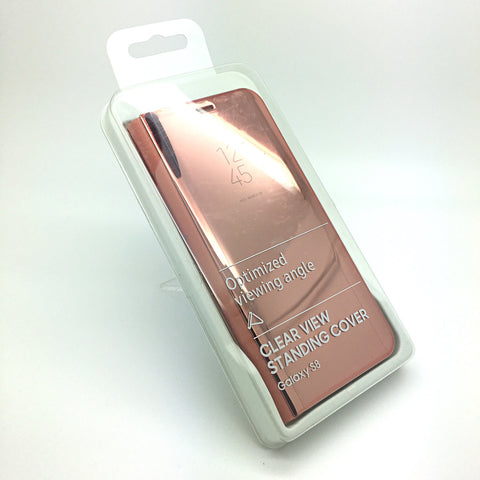 Clear View Case for Samsung Galaxy S Series