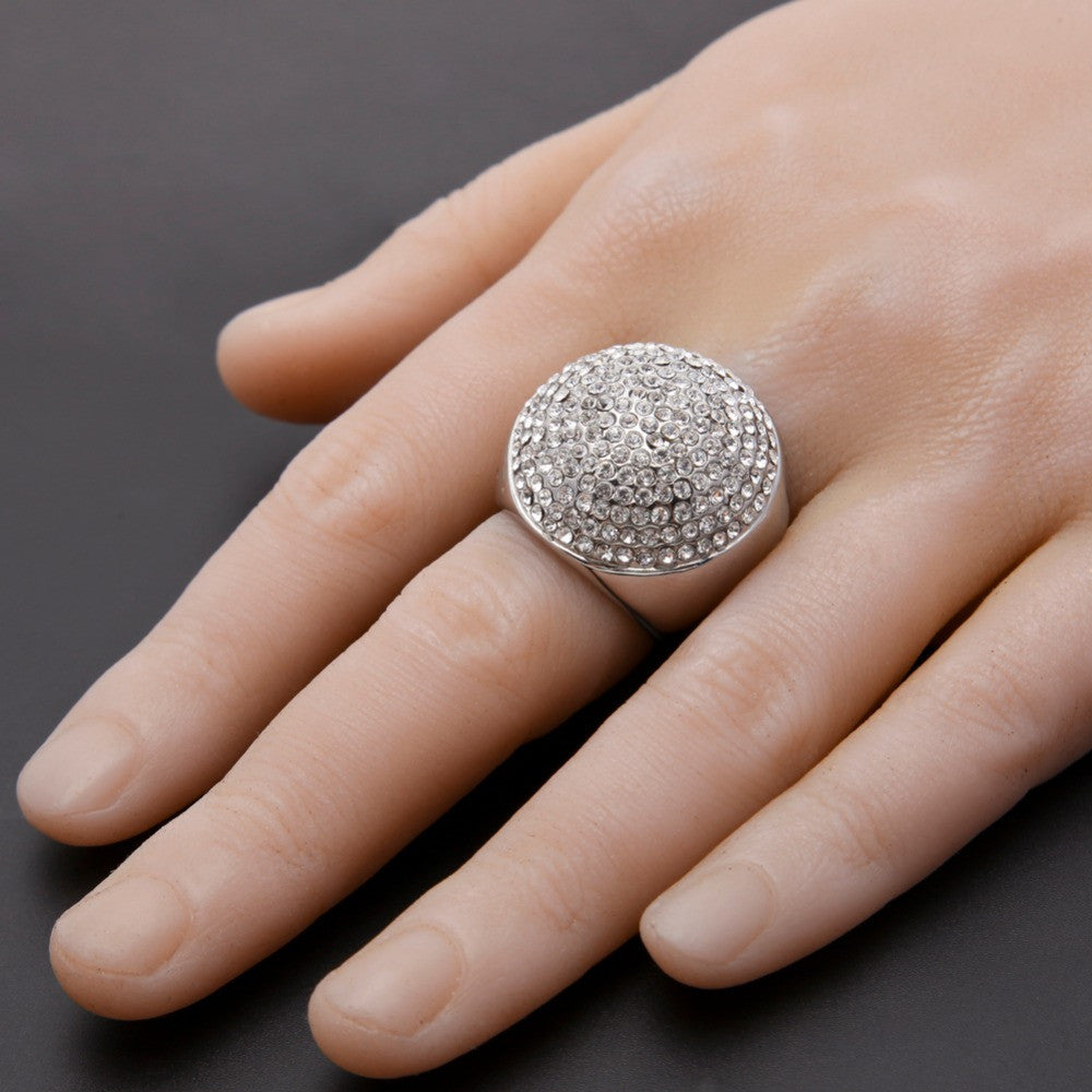 cut pave engagement diamond pav ring rings round trio micro product