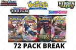 8/3 Monday Break #2 Burning Shadows Mixer (72 PACK BREAK)