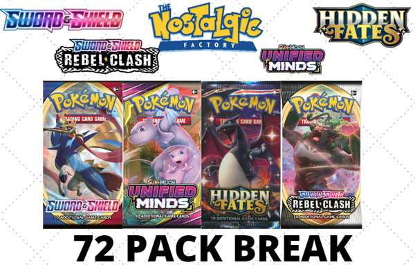 8/3 Monday Break #4 Unified Minds Mixer (72 PACK BREAK)