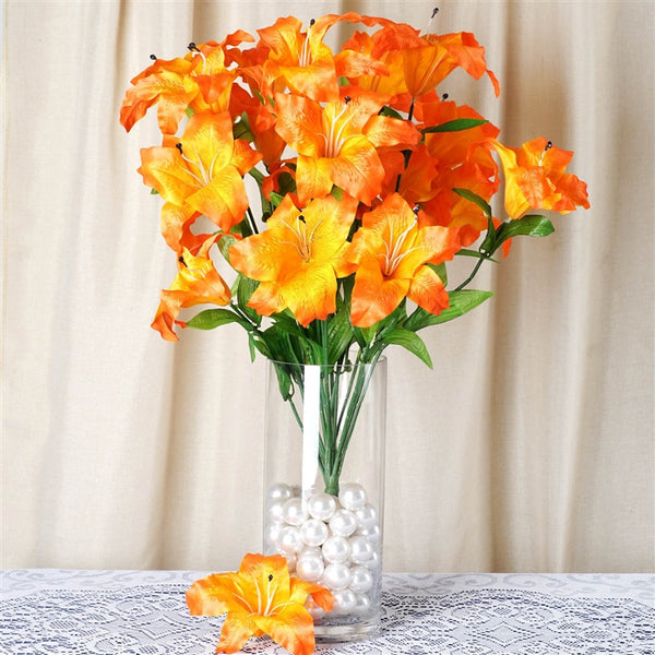 54 SUPERSIZED Casa Blanca Lilies Orange