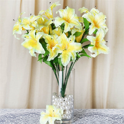 54 SUPERSIZED Casa Blanca Lilies Yellow