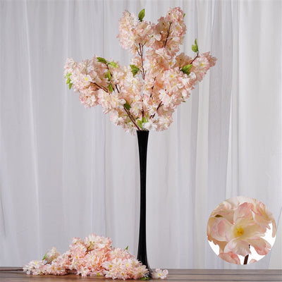 42 artificial silk cherry blossom flower branches wedding vase center 42 artificial silk cherry blossom flower branches wedding vase centerpiece decor buy 1 get mightylinksfo