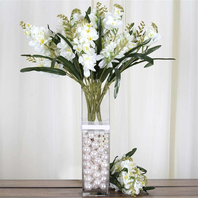 4 Heavenly Mount Olympus Freesia Bushes - Cream