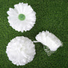 Silk Chrysanthemum Flowers - White - 12 Pack