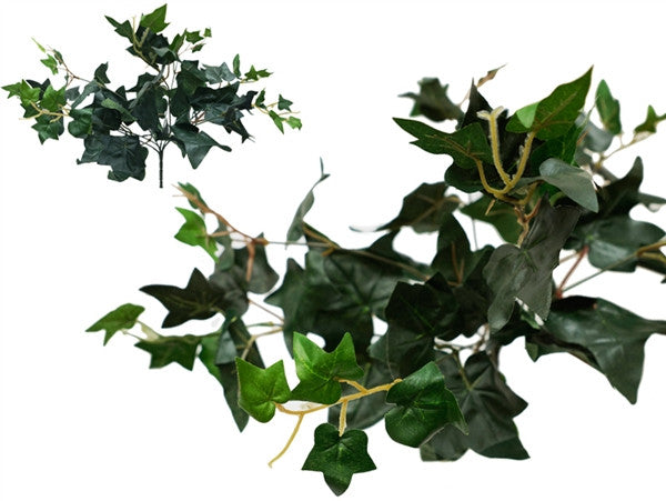 Artificial English Ivy Foliage - 10 Bushes