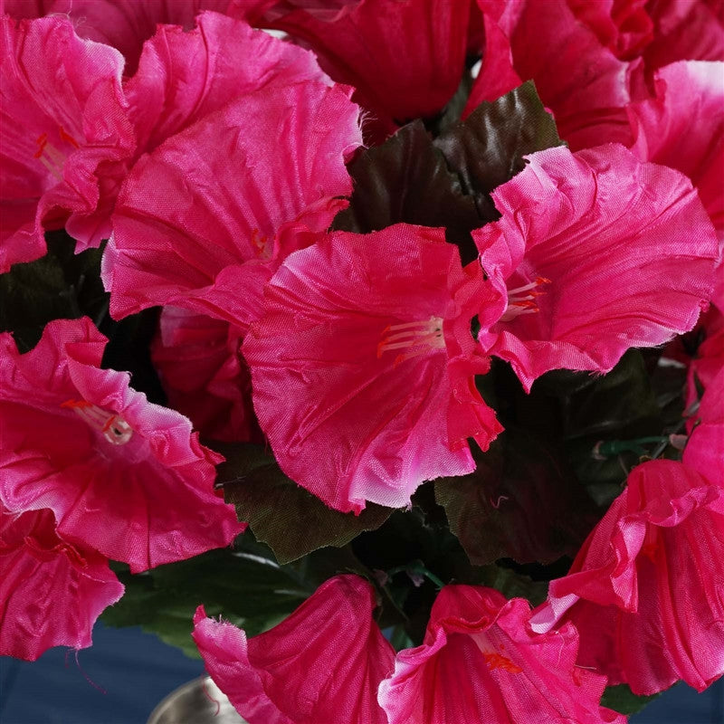 168 Splashy Petunia Flowers - Fushia( Sold Out )