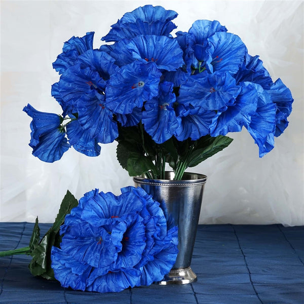 168 Splashy Petunia Flowers - Royal Blue