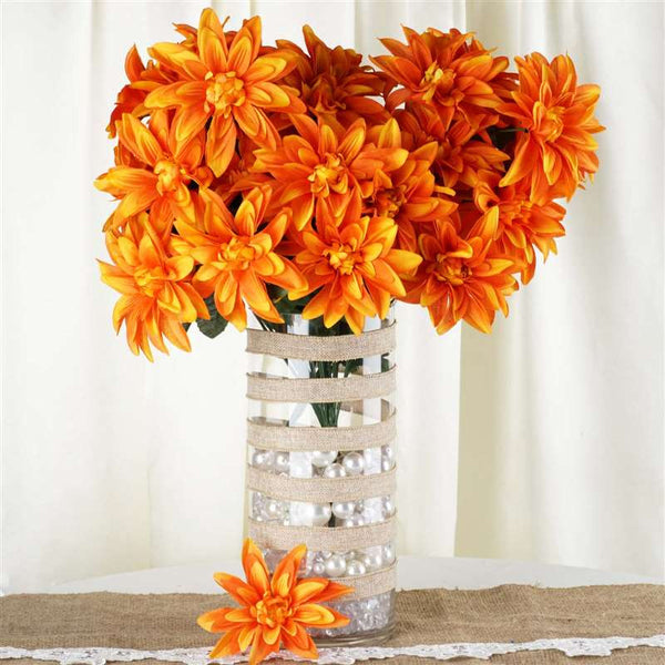 56 Dahlia Bushes - Orange