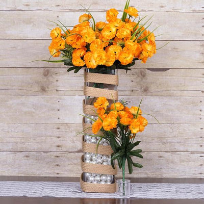 252 carnation flowers yellow silk flowers factory 252 wholesale carnation flowers wedding vase centerpiece decor yellow mightylinksfo