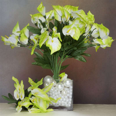 252 Mini Calla Lily - Lime