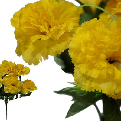 84 Large JUBILEE Carnations - Yellow