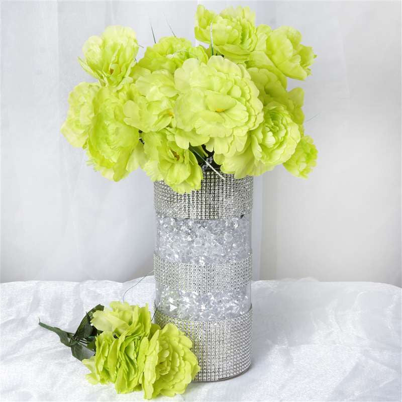 60 silk peony lime green silk flowers factory 60 silk peony lime green mightylinksfo Images