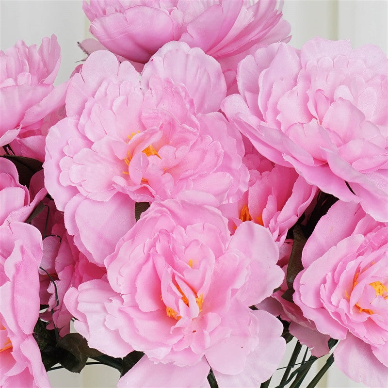 60 silk peony pink silk flowers factory 60 wholesale artificial bridal bouquet peony silk flowers home wedding party dcor pink mightylinksfo