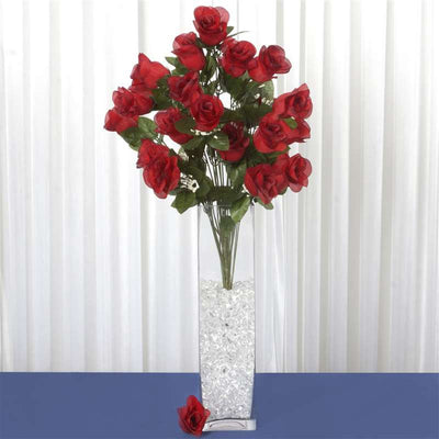 96 Giant Rose Bud Bush - Black/Red