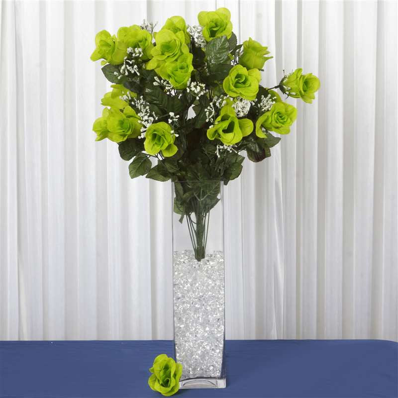 96 artificial lime green giant rose bud flowers wedding bridal 96 artificial lime green giant rose bud flowers wedding bridal bouquet centerpiece decoration 96 giant rose bud bush lime mightylinksfo Images