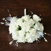 Handcrafted Rose Bouquet Artificial Foam Flowers - Cream