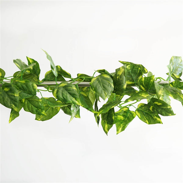 8 FT Artificial Ivy Silk Leaf Garland Vine Fake Foliage Flowers For Home Decor
