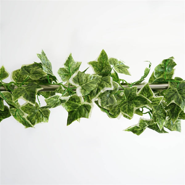 8 FT Home Foliage Decor Green Plant Ivy Leaf Artificial Flower Garland