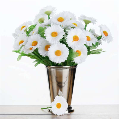 108 wholesale artificial silk daisy flowers wedding vase centerpiece 108 silk daisy white mightylinksfo