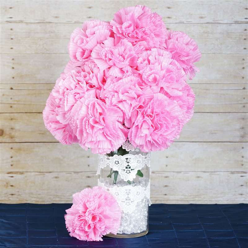 36 GIANT Your-Special-Day Carnations - Pink