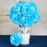 36 GIANT Your-Special-Day Carnations - Turquoise
