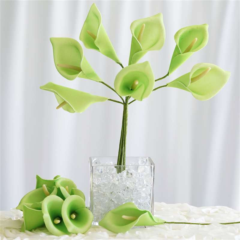 42 artificial lime green giant calla lilies flowers wedding bridal 42 artificial lime green giant calla lilies flowers wedding bridal bouquet centerpiece decoration 42 lifesize calla lilies lime mightylinksfo Images