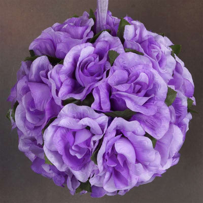 Rose Pomander Kissing Balls - Lavender- 4 PCS