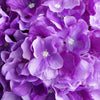 Hydrangea Kissing Ball Artificial Silk Flowers - Purple - 4 pack