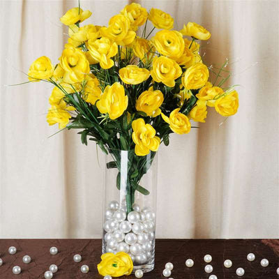 72 Buttercup Ranunculus Bulb Flowers Yellow
