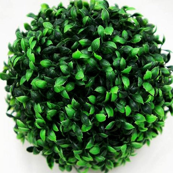 2-in-1 Boxwood Kissing Ball Green 4/pk