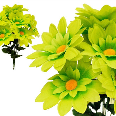 108 Artificial Lime Green Westfield Alba Flowers Wedding Bridal Bouquet Vase Decoration