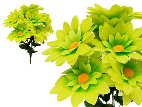 108 Artificial Westfield Alba Flowers Bridal Bouquet Wedding Vase Centerpiece Decor – Lime