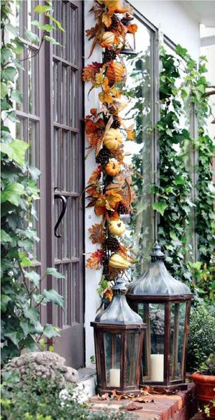 6 FT Artificial Fall Ivy Garland Foliage For Wedding Arch Gazebo Home Decor