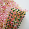 4 PCS Pink Silk Hydrangea Flower Mat Wall Backdrop Photography Panel Photo Booth  Wedding Event Decor