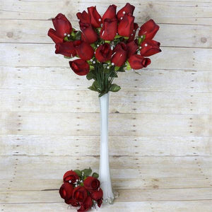 Silk roses rose buds velvet rose buds mightylinksfo Image collections