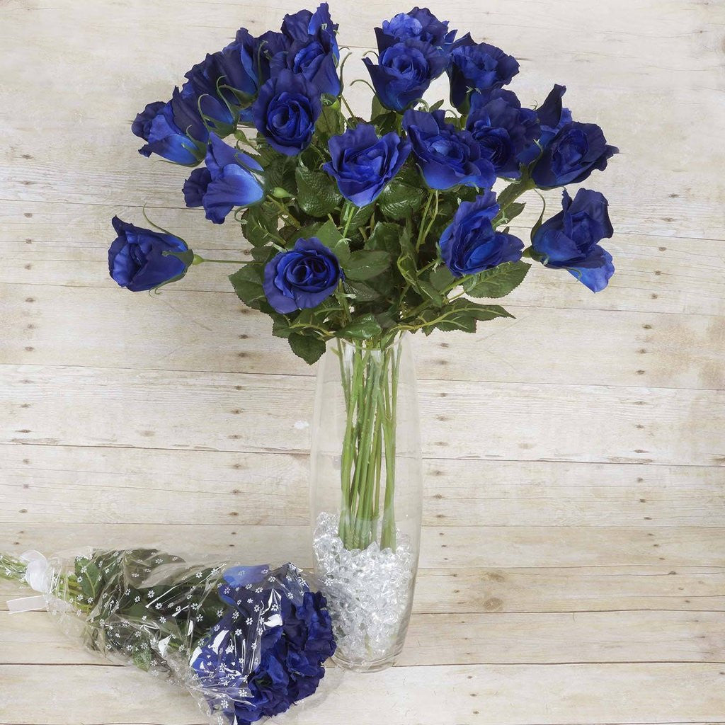 48 artificial rose wedding flower bundles vase centerpiece decor 48 artificial rose wedding flower bundles vase centerpiece decor navy blue reviewsmspy