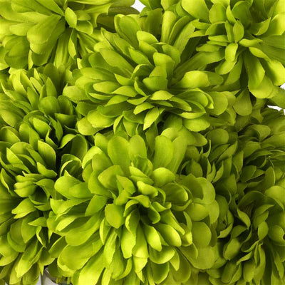 56 Artificial Sage Green Silk Chrysanthemum Flowers Bush Wedding Bridal Bouquet Vase Decoration