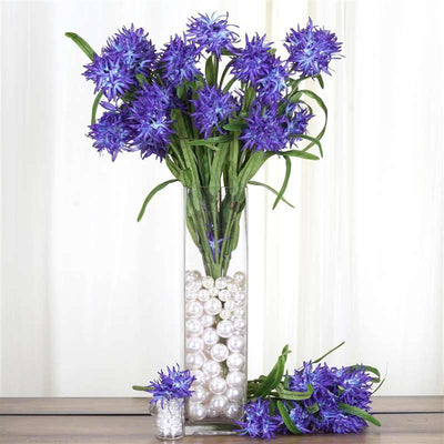 36 artificial silk agapanthus bushes for wedding home vase 36 agapanthus bush violet mightylinksfo