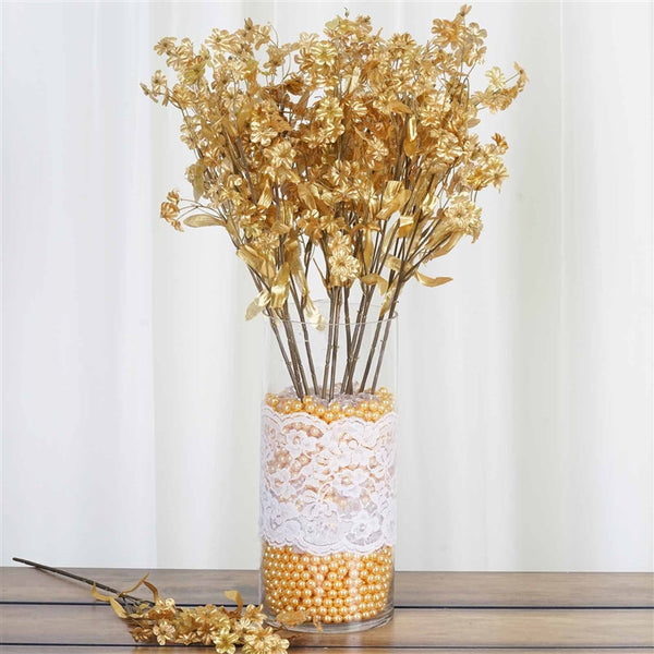 Silk Baby Breath-Gold-dz/pk